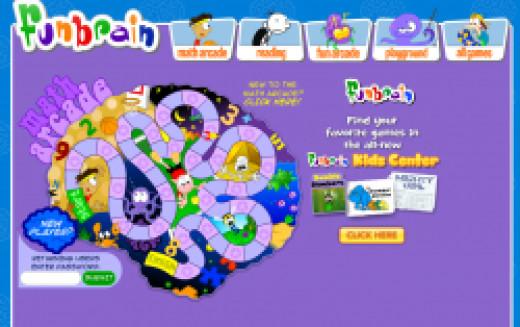 FunBrain Math Arcade