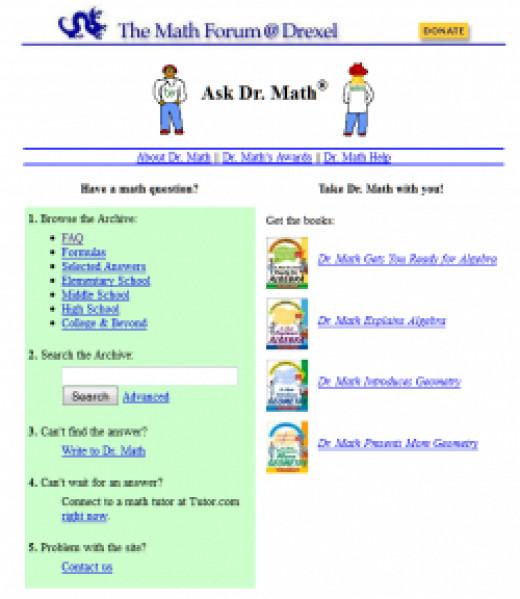 Ask Dr. Math