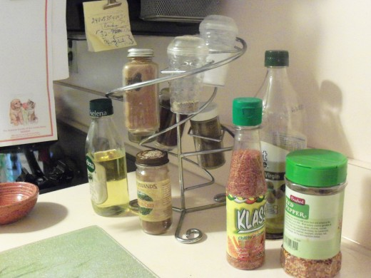 I have a metal rack for some spices