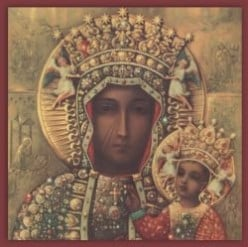 The Black Madonna of Czestochowa, Queen of Poland