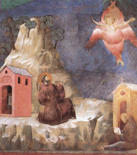 "Number 19 in the ""Scenes from the Life of St. Francis"" by Giotto di Bondone in the upper Basilica of St. Francis, Assisi"