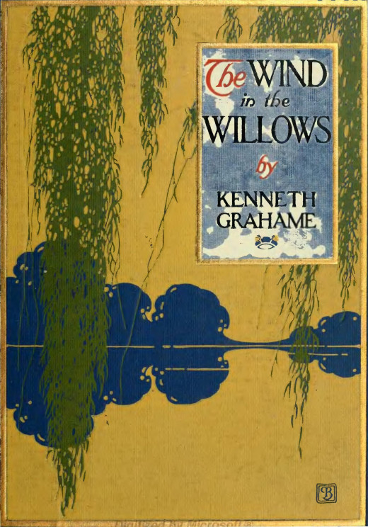 Wind in the Willows cover. 1913. Scribener and Sons. New York.