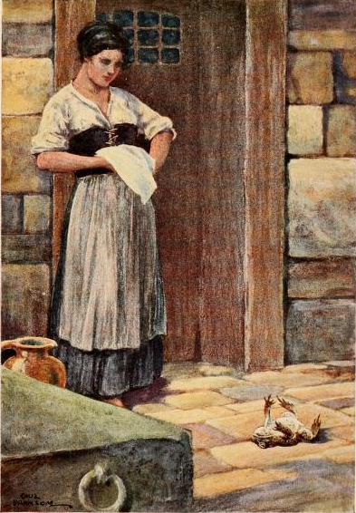 The Gaoler's daughter and Mr. Toad. 1913. page 195By Bransom, Paul, illustrator, [Public Domain], via Wikimedia Commons
