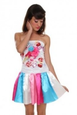 Hot Topic Candy Girl Costume