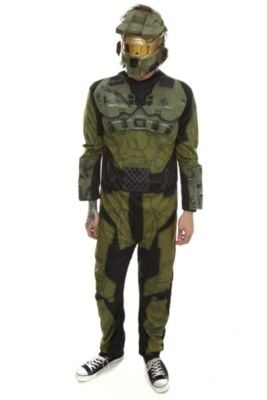 Hot Topic Master Chief Costume