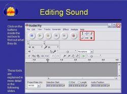 Audacity Sound Editing Webtools