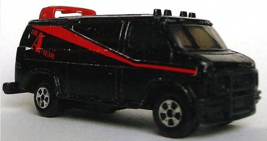 A Team van toy