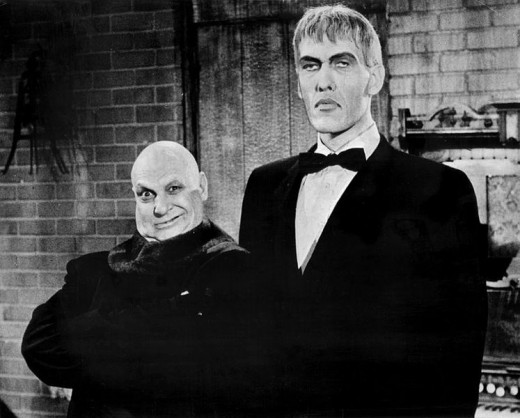 Uncle Fester and Lurch