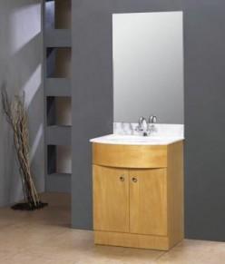 Vessel sink vanities can be as simple or as ornate as you like