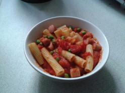 Tomato and Hotdog Pasta Recipe