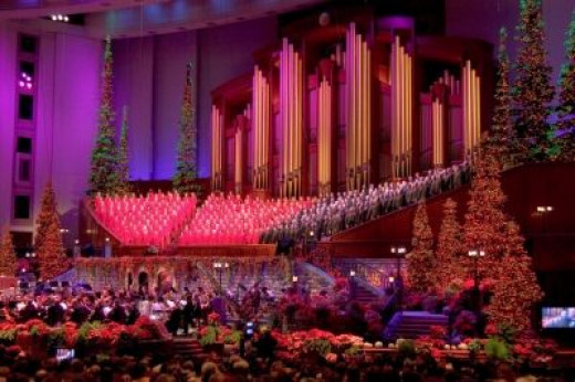 The Choir's Second Home in the LDS Conference Center