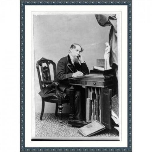 Charles Dickens Writing