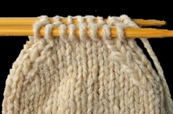 Set Up, from the author's ebook Kitchener Stitch