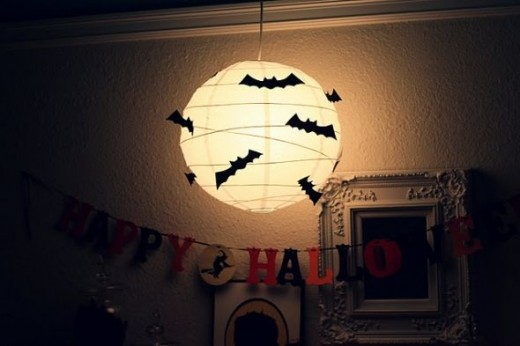 Bats on your Lantern. Featured on Babble Blogs.