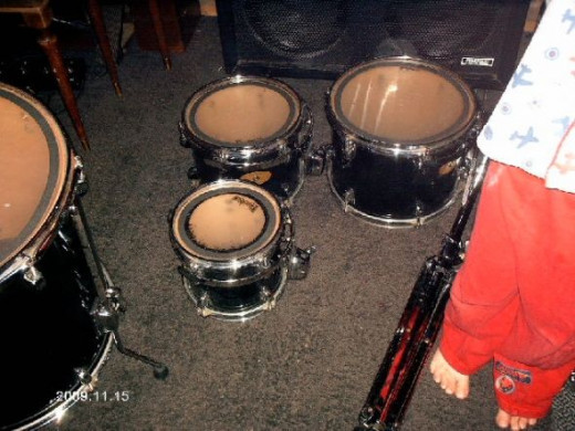 These are his snares.