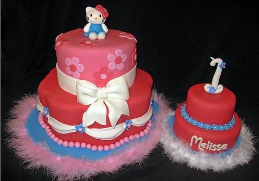 Hello Kitty Cake by Stacie, Whimsy Cakes