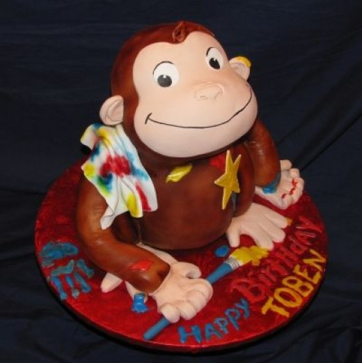 Fantastic Curious George Cake