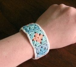 Granny Squares Bracelet