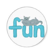 Fun Cat Stickers