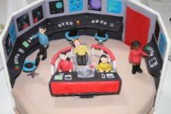 Amazing Star Trek Birthday Cakes