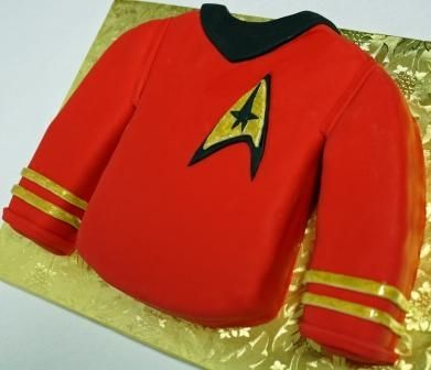 Red Shirt Cake by AJ's Moonlight Bakery