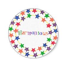 Harmonious Stickers