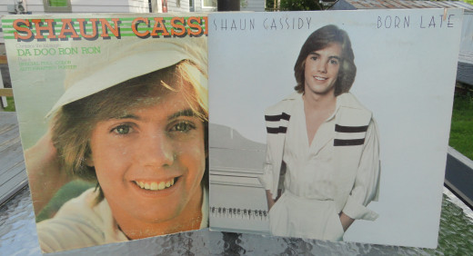Two Hit Records - Shaun Cassidy and Born Late