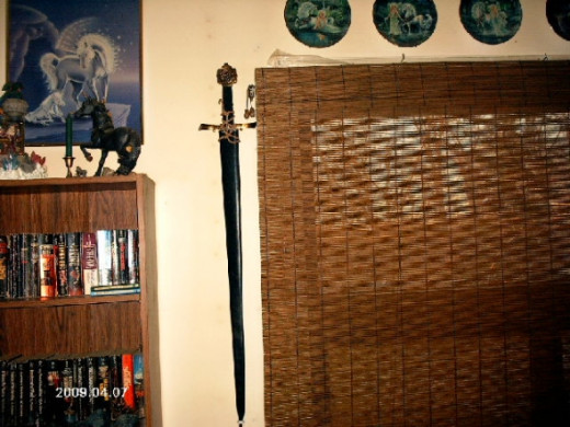 This is a replica of an Italian Renaissance Fencing Sword that I own.