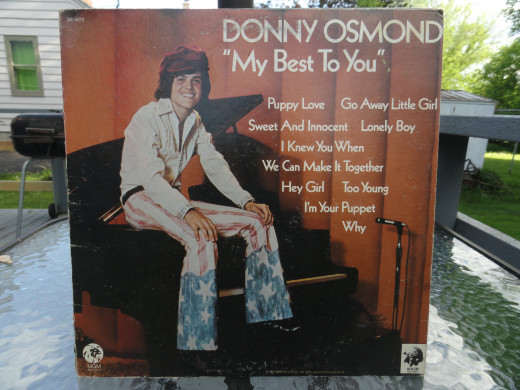 Donny Osmond - My Best To You.