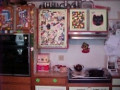 My Crazy Junk Art Kitchen Cabinets