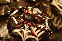 Plastic Spider Cupcake