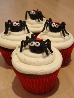 Harpot Spider Cupcakes