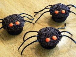 Monster Spider Cupcakes