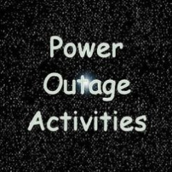 Power Outage Activities and Lights; Fun Family Games to Play in the Dark