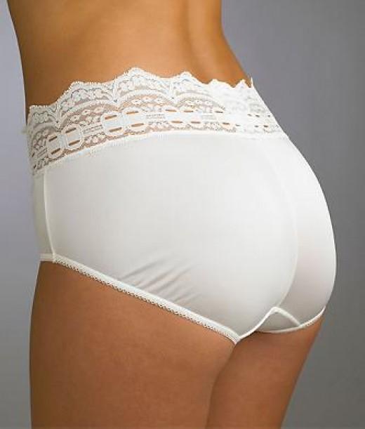 One of my favorite panties. (Olga Secret Hug Nylon Scoop Hipster)