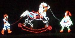 Oglebay Lights, Rocking Horse