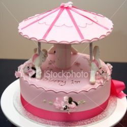 Carousel Birthday Cake