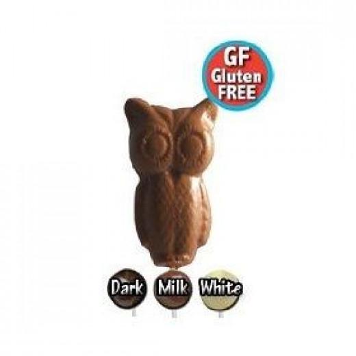 Halloween Lollipops Chocolate Owl