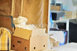 Turn Clutter into Cash if your storage areas are starting to look messy like this image courtesy of istockphoto.com!