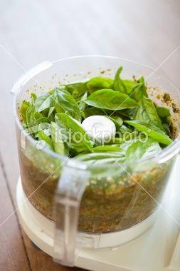 Make Fresh Pesto in the KitchenAid Mini Chopper