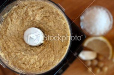 Homemade Hummus using a Mini Chopper