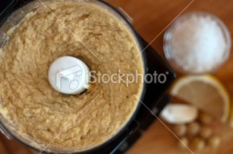 Homemade Hummus using a Mini Chopper