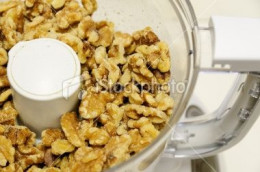 Chopping Nuts in a KitchenAid Mini Chopper