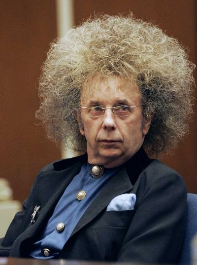"Phil Spector - do you think this helped convince the jury that he'd ""wigged out?"""