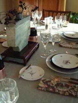 dinner table photo by euryale sinclair