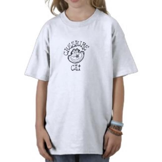 Cheshire Cat Drawing Shirt