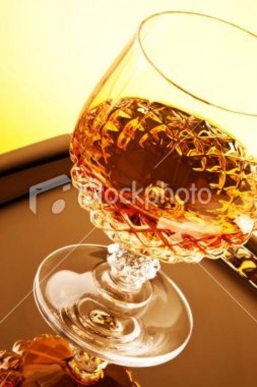 Vodka with Scotch drink