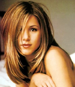 Jennifer Anniston doesn't have the thickest hair, but it's always beautiful