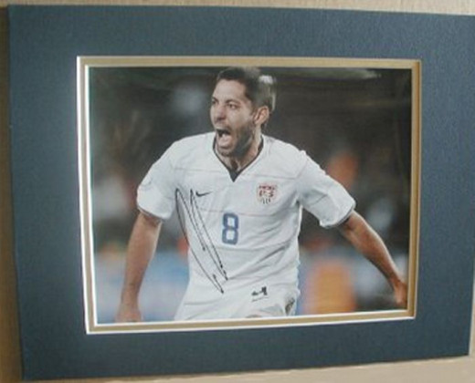 "CLINT DEMPSEY Signed 8""x10"" DOUBLE MATTED Photo Reprint"