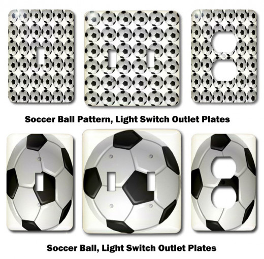 Soccer Light Switch and Outlet Covers on Amazon